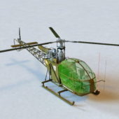 Alouette Attack Helicopter