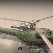 Army Alouette Iii Anti Submarine Helicopter