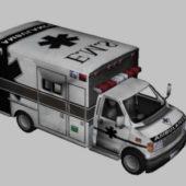 City Ambulance Van