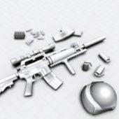 America Military Gun M4 Carbine