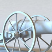 American Civil War Cannon Weapon
