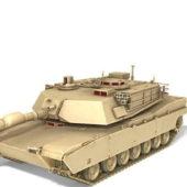 Military Tank M1 Abrams