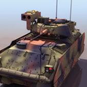 American M2a2 Bradley Tank