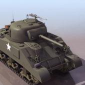 American M4 Sherman Tank