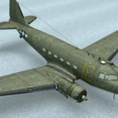 Ww2 Us Air-force Transport Aircraft