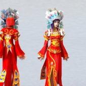 Ancient China Bride Character