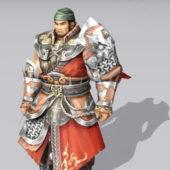 Ancient Character China Warrior