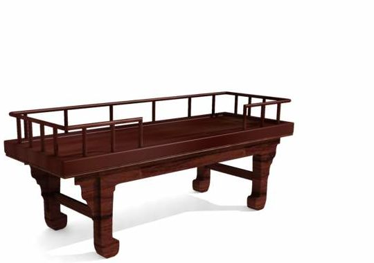 Ancient China Daybed Wooden