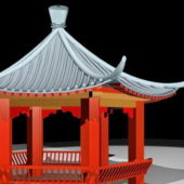 Ancient Traditional China Pavilion