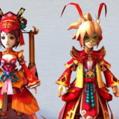 Ancient Character Chinese Anime Couple