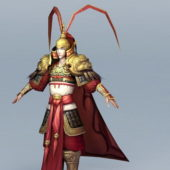 Chinese Style Ancient General Officer