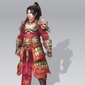 Ancient Chinese Man Warrior