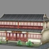 Asian Ancient Inn Tavern