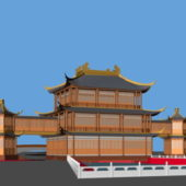 Ancient Traditional Chinese Palace