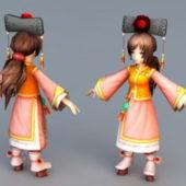 Ancient Character Chinese Princess