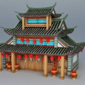 Ancient Building Chinese Restaurant