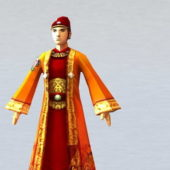 Ancient Character Chinese Scholar Official