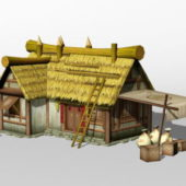 Ancient Chinese Farmhouse