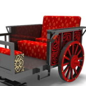 Chinese Horse Carriage Vehicle