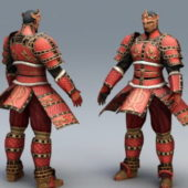 Ancient Korean Warrior Character