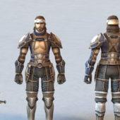 Ancient Korean Warrior Character V1