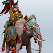 Persian Elephant Gaming Character
