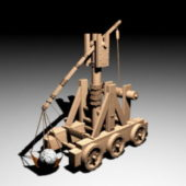 Ancient Trebuchet Weapon