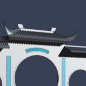 Ancient Building Gate