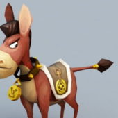 Angry Donkey Character