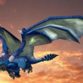 Flying Dragon Animal Animated