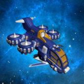 Weapon Futuristic Gunship