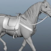 Horse Running Animated