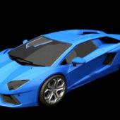 Car Lamborghini Aventador