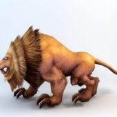 Animated Lion