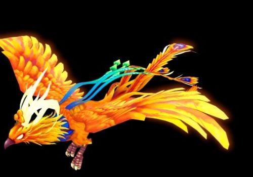 Animated Phoenix T Fantasy Animal
