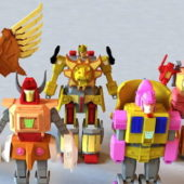 Character Animated Transformers