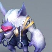 Anime Character Bull