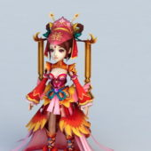 Anime Character Chinese Bride