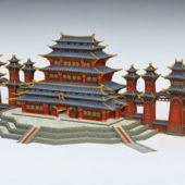 Gaming Anime Chinese Palace