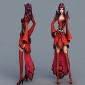 Anime Character Demon Princess