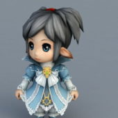 Anime Character Elf Children