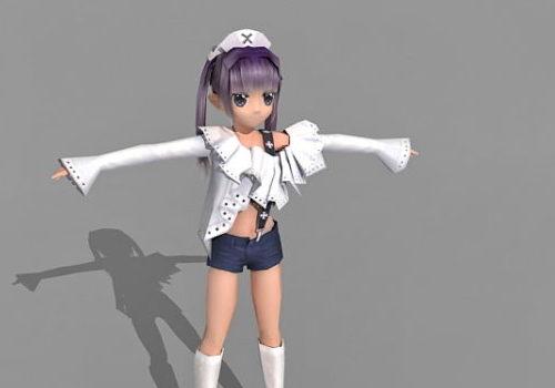 Anime Character Emo Girl V1