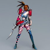 Anime Character Female Assassin