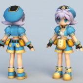 Anime Character Female Mechanic
