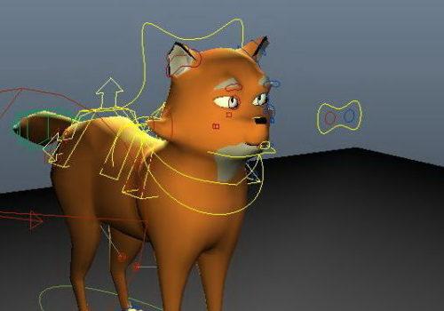 Anime Cartoon Fox Animal
