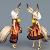 Anime Character Fox Girls