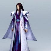Anime Character Guy Long Hair