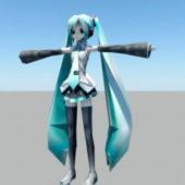 Character Anime Hatsune Miku