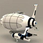 Gaming Anime Spaceship