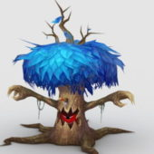 Anime Treant Tree Monster